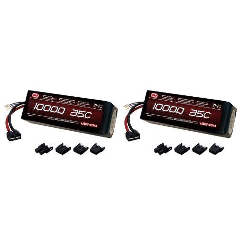 Venom 35C 2S 10000mAh 7.4V LiPo Battery with Universal Plug