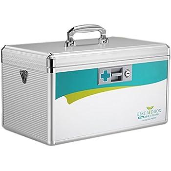 azdent locking medicine box storage box medicine cabinet with lock 77 x 79 x 12