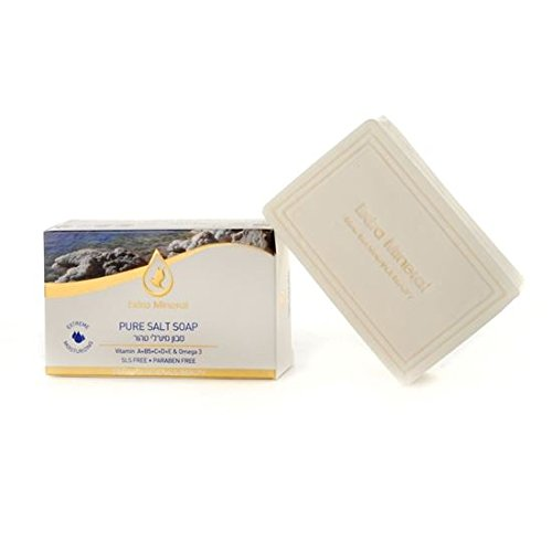 Extra Salt - Pure Dead Sea Salt Soap Extra Mineral 125 gm