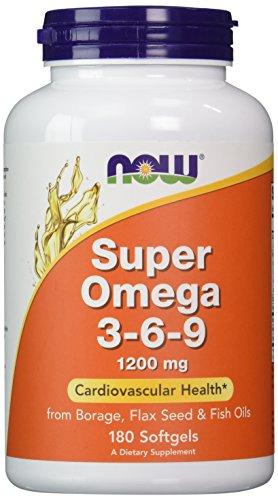 NOW Super Omega 3 6 9 Softgels