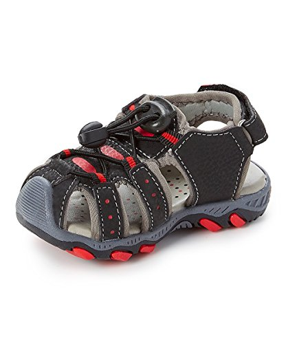 Image of Sea Kidz Kids Children Waterproof Hiking Sport Closed Toe Athletic Sandals (Toddler/Little Kid/Big Kid)