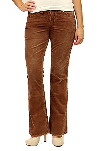 Silver Jeans Co. Women's Suki Surplus Corduroy Flap Pocket Pants (25W x (Surplus Corduroy Pants)
