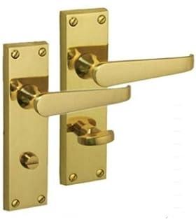 Carlisle Brass Victorian Bathroom Door Handles 64mm Bathroom