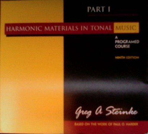 Harm. Materials in Tonal Music Pt. 1 (Sw)
