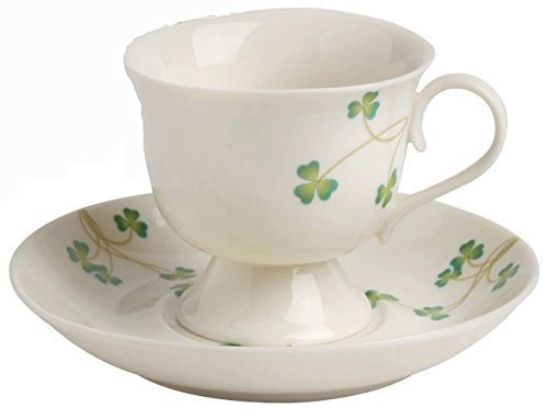 Nantucket Home Shamrocks Teacup