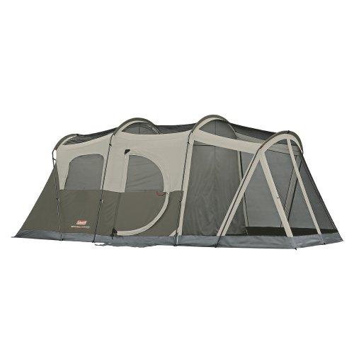 Coleman WeatherMaster 6 Screened Tent w/Hinged Door - 17' x 9' 콜맨 weather 마스터