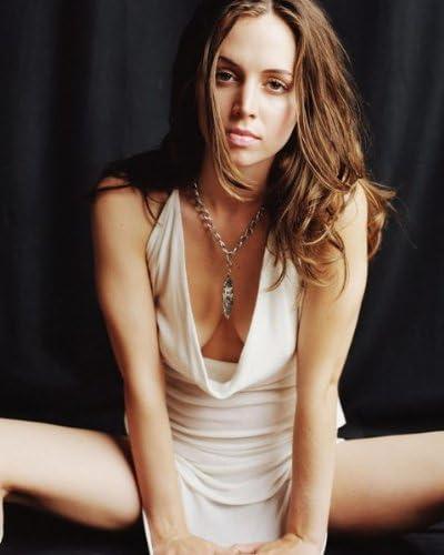 Eliza Dushku Sexy Little White Dress 124 8x10 Photo Amazon Co Uk