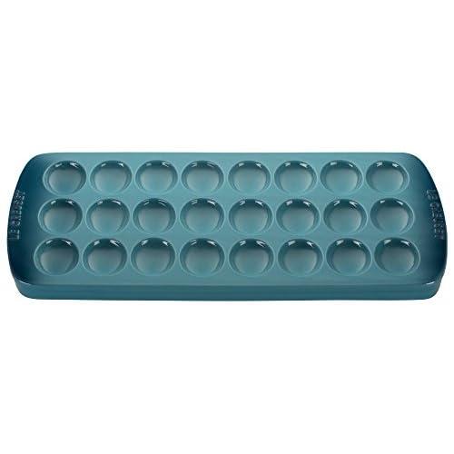 "Le Creuset Stoneware Deviled Egg Platter, 16 1/4"" x 8"" x 1"", Marine"