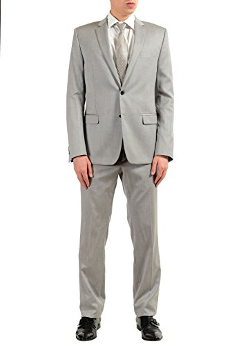 Versace Collection Men's 100% Wool Gray Two Button for sale  Delivered anywhere in USA