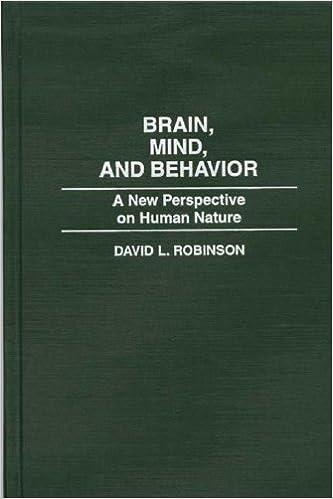 Ilmainen e-kirjojen lataus Brain, Mind, and Behavior: A New Perspective on Human Nature 0275954684 Suomeksi PDF FB2 iBook