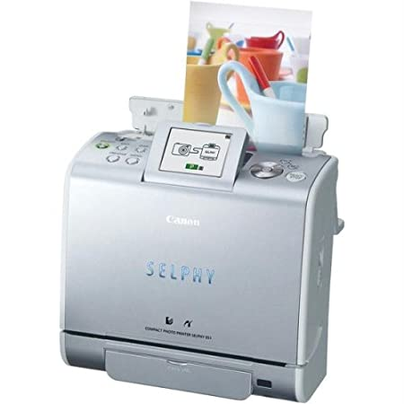 Canon Selphy ES1 Compact Photo Printer (0324B001) Printers at amazon