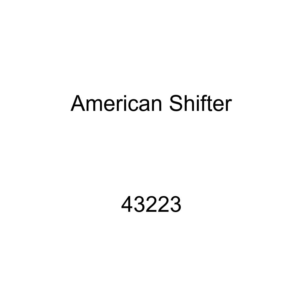 American Shifter 43223 Orange Metal Flake Shift Knob with 16mm x 1.5 Insert White Commercial Airplane
