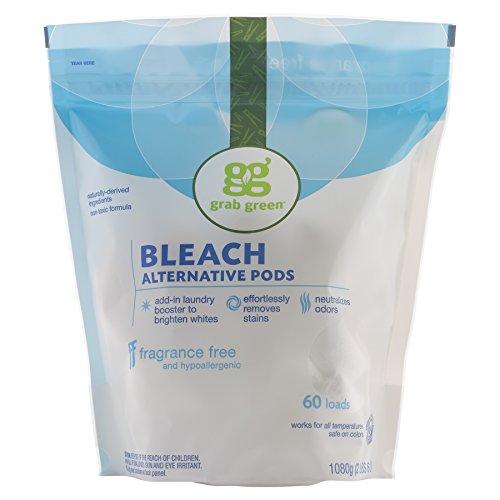 Grab Green Natural Non-chlorine Bleach Alternative, Fragrance Free, 60 Loads