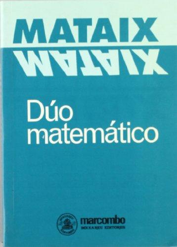 Descargar Libro Dúo Matemático Miguel Mataix Hidalgo