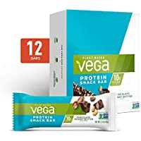 Vega Protein 12-Count Snack Bar Chocolate Peanut Butter