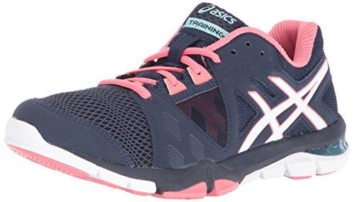 Asics Gel-Craze TR 3Zapatillas de fitness de la mujer Dark Navy/White/Guava