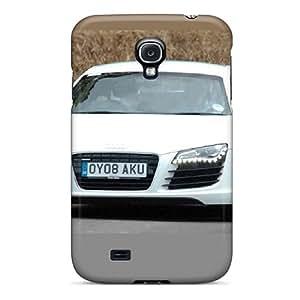 LavernaCooney Samsung Galaxy S4 Protective Hard Phone Cases Unique Design HD Audi R8 Pattern [qES10417VRjz]