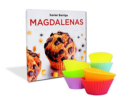 La caja de magdalenas de Xavier Barriga: Incluye nueve moldes de silicona Sabores: Amazon.es: Xavier Barriga: Libros
