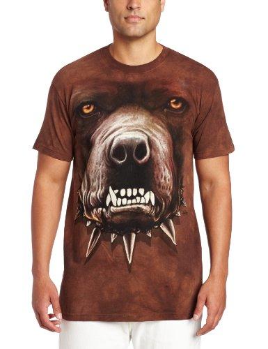 Zombies Pitbull Face - Pitbull/Hundegesicht - Erwachsenen T-Shirt von The Mountain