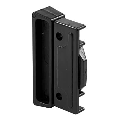 Prime-Line Products F 2518 Sliding Window Latch and Pull, Auto Latching, Black Plastic