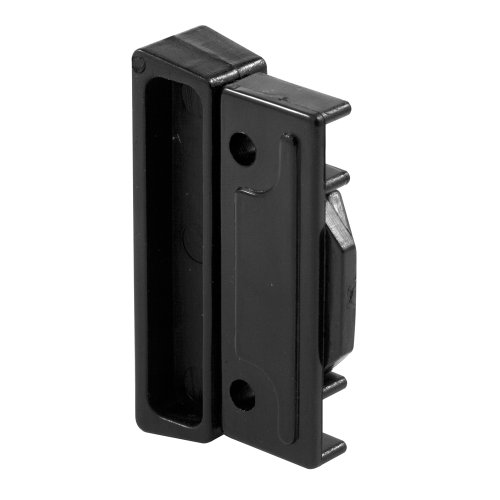 Prime-Line Products F 2518 Sliding Window Latch and Pull, Auto Latching, Black Plastic ()