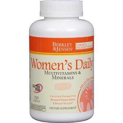 Price comparison product image STS Berkley Jensen Women's Multivitamins and Minerals Supplement Tablets - 250 Count