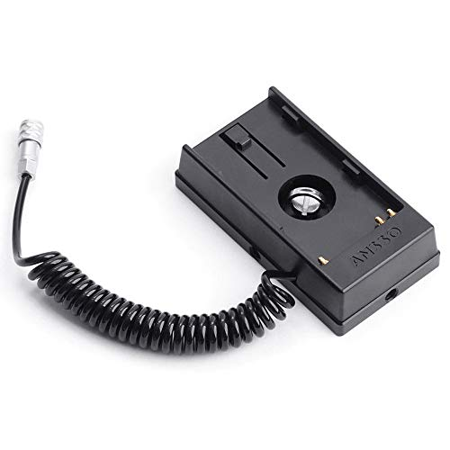 Ansso BP-U60/30 Camera Battery Power Supply System Plate Aviation Connector for BMD BMPCC 4K