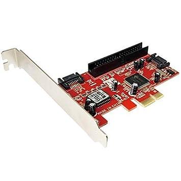 PCI Controller Card 2 SATA Ports, 1 PORT IDE RAID 0: Amazon.co.uk