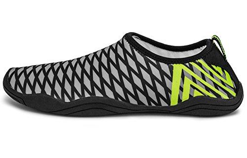 de de Yoga rápido A5 Ligeros para Goma de Black esnórquel Playa Yoga Secado Zapatos Suave haoYK Agua Antideslizantes q5w6Sptt