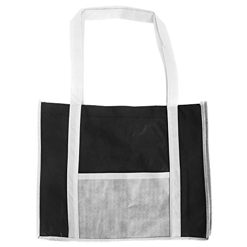 Tote negro Con Asas Para En Estilo Jassz Bags Compra La Largas Bolsa By Rojo Tonos Dos BP0pcUZ1y