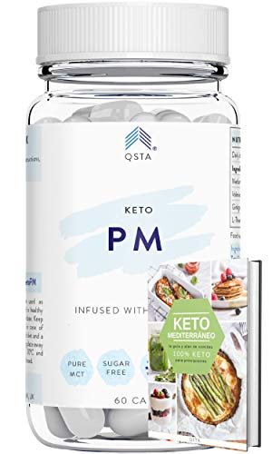 Keto Complete UK PM (1 Month) – Powerful and Fast Keto Diet Advanced Night Shred Pills for Men & Women, No Exercise, No…