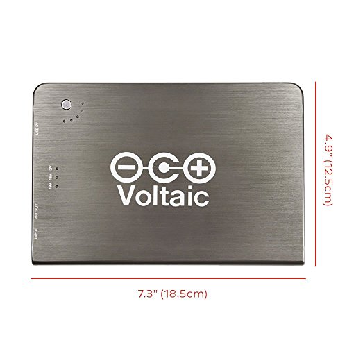 Voltaic Systems - V72 External Backup Battery Pack for Laptops | Powers Laptops, Tablets, & More USB Devices | Charge Your Laptop as Fast as at Home - 19,800mAh by Voltaic Systems (Image #1)