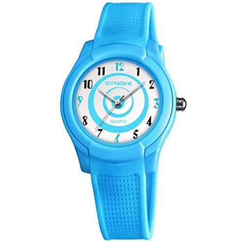 LED Sports Watch for Kids Boy Girl, Multi-Function Waterproof Wrist Watch for Children, Christmas Gifts (blue)