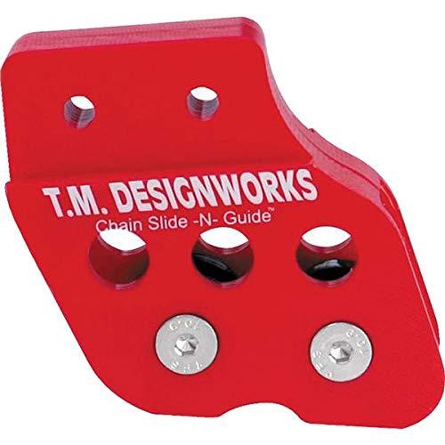 - 06-14 Honda TRX450ER: TM Designworks OEM Swingarm Chain Guide (RED)