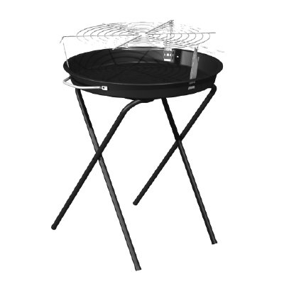 Blue Rhino Global Sourcing CBC1672G Black Round Char Grill, 18'' by Blue Rhino Global Sourcing