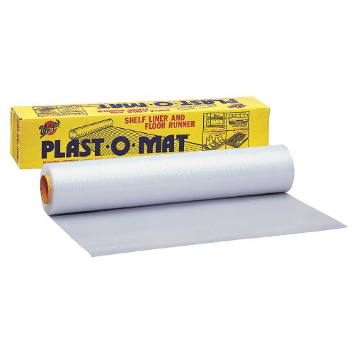 Warp Brothers PM100 30 x 100 Clear Plastic Mat For Ribbed Floor Runners Small Parts