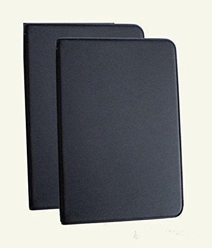 Mead (46000) Two Mini 6-Ring Black Memo Books, Both Containing 3 x 5 inch Lined Paper