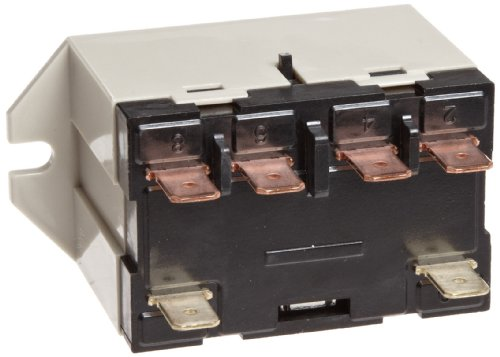 Omron G7L-1A-TUB-J-CB-AC24 General Purpose Relay With Test Button, Class B Insulation, QuickConnect Terminal, Upper Bracket Mounting, Single Pole Single Throw Normally Open Contacts, 71 mA Rated Load Current, 24 VAC Rated Load Voltage
