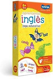 Jogo de Memória Aprendendo Inglês 12 Toyster Brinquedos