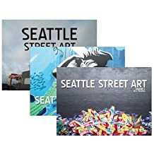 Seattle Street Art Book Series Volumes 1-3 Set (Seattle Street Art Book Series)