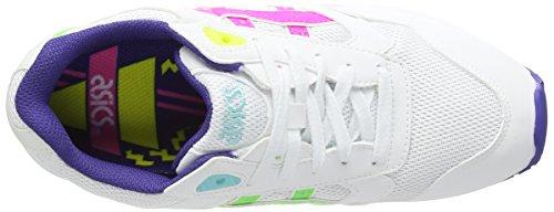 Asics Gel-Lyte III, Scarpe sportive, Unisex - adulto White/Pink 120