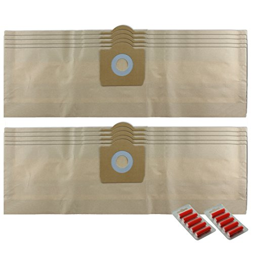 Bush Wet And Dry Vacuum Cleaner Bags - 9