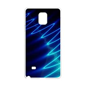 Happy Bright Blue Wave Hot Seller Stylish Hard Case For Samsung Galaxy Note4