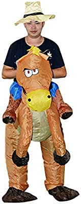 Belingeya-toy Disfraz de Disfraces inflables Disfraz de Jinete ...