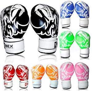 2oz 4oz  Kids Boxing Gloves Junior Mitts Punch Bag Children Gel Pad Gloves