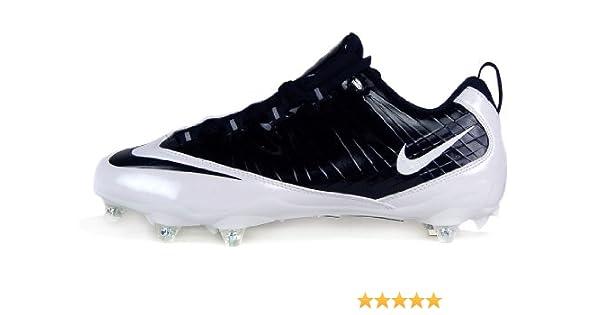 fbdbda8ea152 Amazon.com | Nike Zoom Vapor Fly D Men's Detachable Football Cleats (9)  Black/Black-white | Football