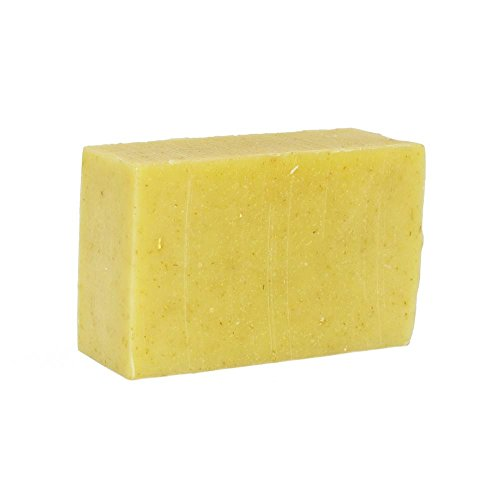 Organic Thai Lemongrass & Lavender Shea Butter Soap, Artisan Handmade Soap. Natural and Organic Ingredients. Moisturizing Wash for Face & Body. Vegan and Paraben Free