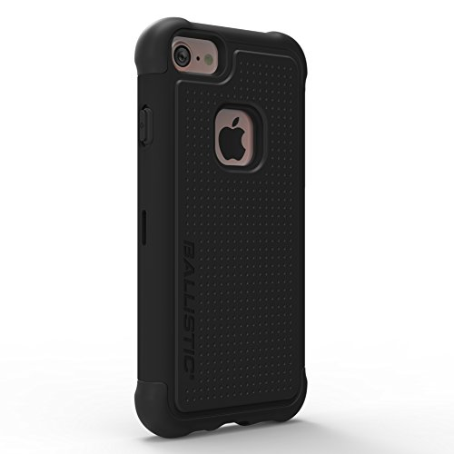 Ballistic Tough Jacket Series Case for Standard Size 4.7-inch Apple iPhone 8, iPhone 7, iPhone 6s, and iPhone 6 (Black)
