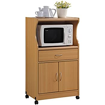 home source industries brook tall microwave cabinet with 2 drawer and an upper and. Black Bedroom Furniture Sets. Home Design Ideas
