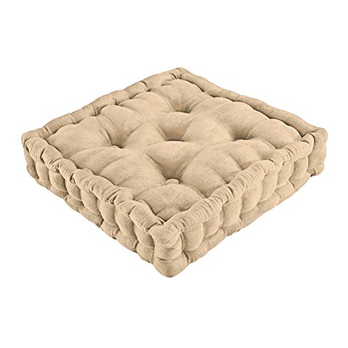 Tufted Support Boosted Cushion Natural